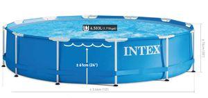 Intex Metal Frame-Pool 366 x 76 cm