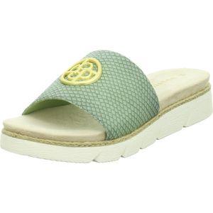 Bugatti Damen-Pantolette Kiko Grün, Farbe:grün, EU Größe:37