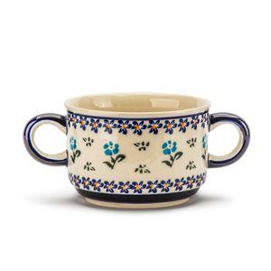 Bunzlauer Keramik SUPPENTASSE Suppenschale Suppenschüssel Schale Suppe 260 ml