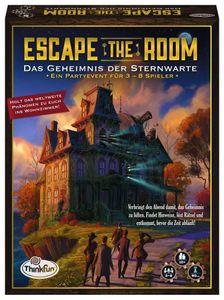 Thinkfun Familienspiel Logikspiel Escape the Room Geheimnis der Sternwarte 76313