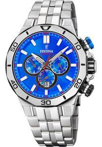 Festina Uhr für Herren F20448/2 Chrono Bike blau