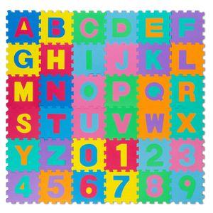Kinder Spielmatte - Kinderspielteppich - Puzzlematte Spielteppich 86-tlg - all Kids United