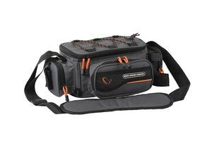 Savage Gear System Box Bag S (15x36x23cm) - Angeltasche inkl. 3 Angelboxen & Ziplock Bags
