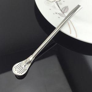 1 Stück Yerba Mate Zubehör 5 wie beschrieben Silber - 17,8 cm