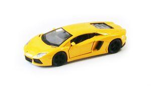 LAMBORGHINI Aventador LP700 Modellauto Modell Auto Spielzeugauto 52(Gelb)