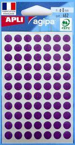 agipa Markierungspunkte Durchmesser: 8 mm rund violett 462 Stück