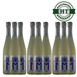 Secco Pfalz Riesling und Kerner Weingut Krieger halbtrocken (9 x 0,75l)