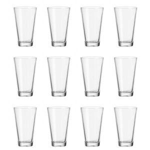 LEONARDO 017207 Ciao Longdrinkbecher, Glas, 300 ml, H 13,2 cm, klar (12 Stück)