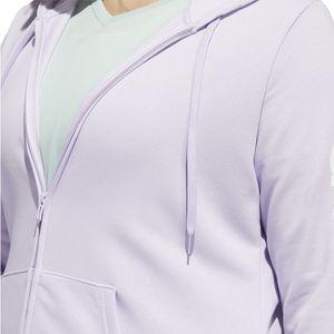 adidas Kapuzenjacke Damen große Größen, Farbe:Flieder, Damen Größen:2X