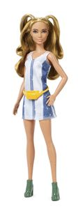 Barbie Fashionistas Puppe im Denim Kleid