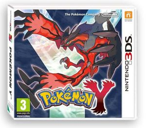 Pokemon Y (Nintendo 3DS) (UK IMPORT)