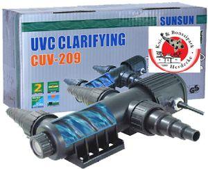 Aquariolux UVC Wasserklärer 9 Watt für Aquarien und Teiche bis 5000 Liter