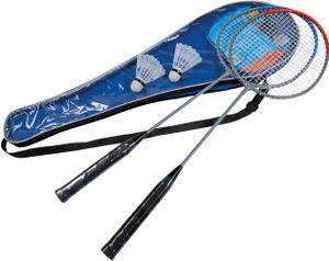 Happy People badminton-Set 65 cm grau/blau/rot 5-teilig
