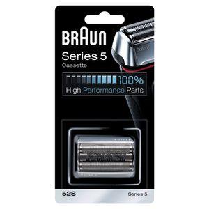 Braun Series 5 52S Elektrischer Rasierer Scherkopfkassette – Silber