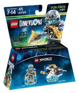 LEGO Dimensions, Fun Pack, Ninjago, Zane, 2 Spielfiguren