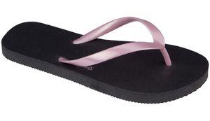 Waimea Kinder Zehentrenner Mambo Beach Schwarz/Rosa Schuhe, Größe:31