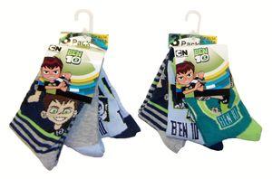 Ben 10 Socken für Kinder 31/34 (6er Pack)