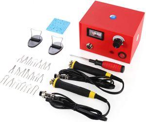 Pyrographie Maschine 50W 220V tragbar Brandmal-Kolben Set mit 20Pcs Brennspitzen