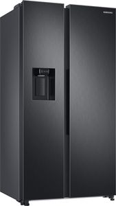 Samsung RS8000 Side-by-Side, 634 ℓ, Premium Black Steel RS6GA8521B1/EG
