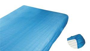 Matratzenschutzbezug, CPE, blau