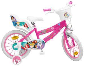 Disney Kinderfahrräder Mädchen Princess 16 Zoll 25,4 cm Mädchen Felgenbremse Rosa