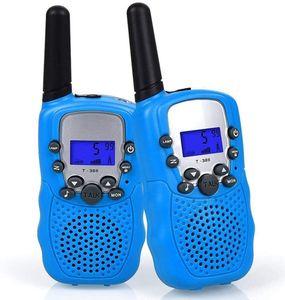 Walkie Talkie Kinder Funkgeräte - 3km Reichweite 8 Kanäle Walki Talki mit Taschenlampe Spielzeug Geschenk für Kinder