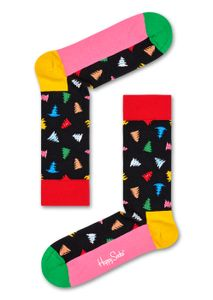 Happy Socks Trees and Trees, Farbe:Schwarz, Größe:36-40