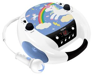 Bigben Interactive CD52UNICORNM2, 88 - 108 MHz, FM, CD-Audio, Portable CD player, Mehrfarben, 1 Disks