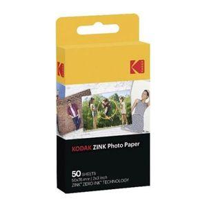 Kodak Zink Papier 50er Pack, Farbe:Weiß