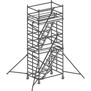Hymer Treppen-Fahrgerüst Reichhöhe 6,25 m