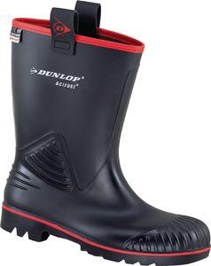 Dunlop Sicherheitsstiefel Rocker S5 schwarz ungefüttert Gr. 46
