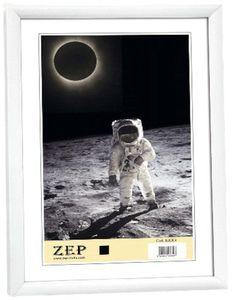 Zep KW1 Collection Basic Bilderrahmen, Kunstharz, Weiß, weiß, 20 x 30 cm