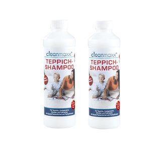 EASYmaxx 2x Teppichshampoo Teppichreiniger Anti-Fleckenformel 500ml (29,99â¬/l)