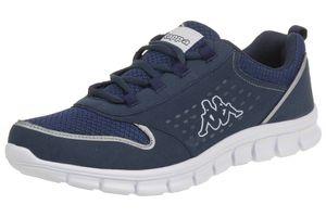 Kappa Sneaker Sportschuhe Turnschuhe Amora Blau, Größe:45
