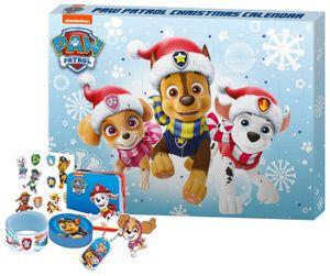Adventskalender Paw Patrol mit Spielzeug, Accessoires und Kosmetik