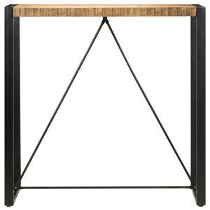 Bartisch 110 x 60 x 110 cm Massivholz Mango Esszimmertisch für 4 Personen