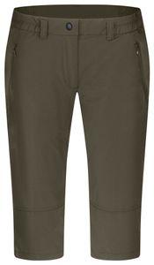 Hot Sportswear - Damen Outdoor Caprihose, St. Louis L (84008), Größe:50, Farbe:Dark Olive (00039)