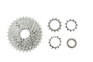 Sun Race Fahrrad Kassette 9-fach Zahnkranz 11-32 Zähne M9S UCP Silber