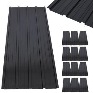 12 x Profilblech Trapezblech 120cm x 51.6cm = 7.4 m² -Dachblech für Gerätehaus Anthrazit Metall Dachblech Dach Platten Stahlblech