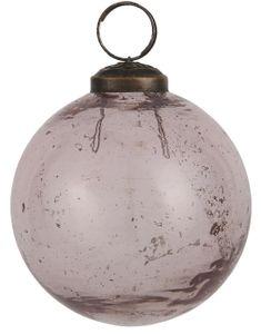 IB Laursen ApS - Weihnachtskugel Glas rosa