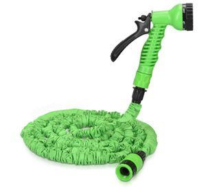 Ciskotu Flexibler Gartenschlauch 30M - mit 7 Funktionen Brause und Schnelladaptern - Wasserschlauch flexibel dehnbar - Wasser Garten Schlauch