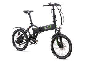 """LLobe E-Bike 20"""" Alu Faltrad City III black, Batterie 36V/10,4Ah, 7-Gang Shimano"""