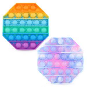 2X Fidget Sensory Toy Set Stressabbau Spielzeug Autismus Angst Relief Stress Pop Blase Zappeln Spielzeug