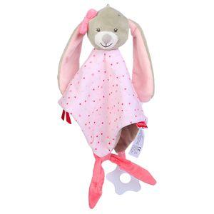 Neugeborene weiche Baby Teddybär Marionette Spielzeug Geschenk Kuschel Tröster Decke PK QYY81122714PK