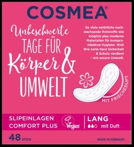 Cosmea Slipeinlagen mit Duft Lang 48er