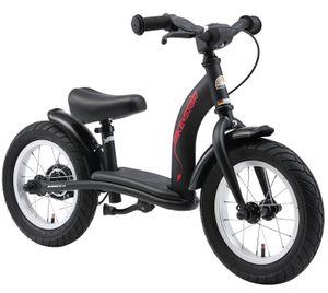 BIKESTAR Kinder Laufrad ab 3 - 4 Jahre | 12 Zoll Classic Lauflernrad | Schwarz