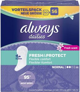 always Protect Normal Fresh 56er