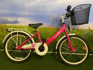 20 ZOLL Kinder Mädchen Fahrrad  Kinderfahrrad Mädchenfahrrad Kinderrad Mädchenrad Bike Rad mit Beleuchtung STVO KDS 2300 PINK