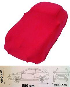Schutzdecke stretch Car Cover Ganzgarage Abdeck-Plane hochwertig rot 5,80 Meter