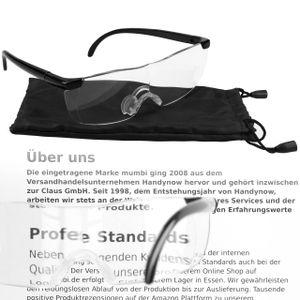 Vergrößerungsbrille Lupenbrille Zauberbrille Kopflupe 160% Vergrößerung